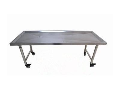 折叠式不锈钢解剖床
