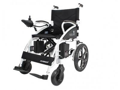 迈德斯特电动轮椅车 可折叠轻便老人代步车老年