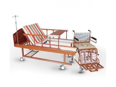 手动轮椅护理床