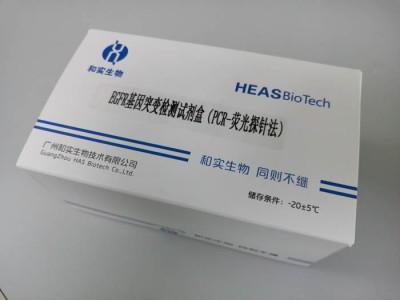 EGFR基因突变检测试剂盒(PCR-荧光探针法)