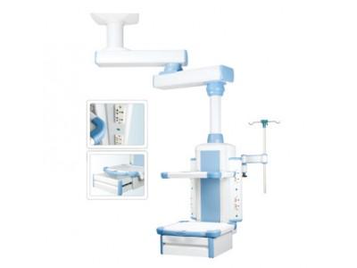 医用 双臂吊塔 外科多功能吊塔  双臂腔镜 ICU梁式干湿分离吊桥