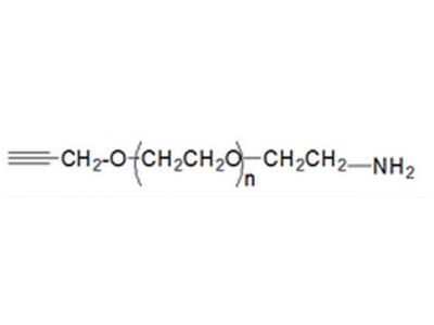 氨基PEG炔基,氨基聚乙二醇炔基,NH2-PEG-Alkyne,Amine-PEG-Alkyne