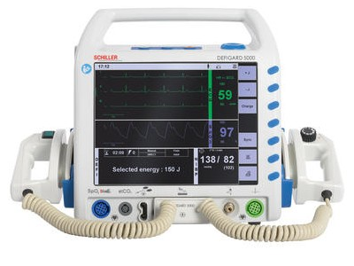 DG5000多脉冲双相波除颤监护仪