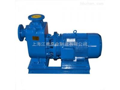 上海江鹿生产ZWL直联式污水自吸泵