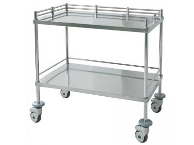 昂派UP-20004手术室器械台 双层器械车 医用台