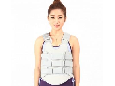 医用可调胸腰椎固定支具支架矫形器