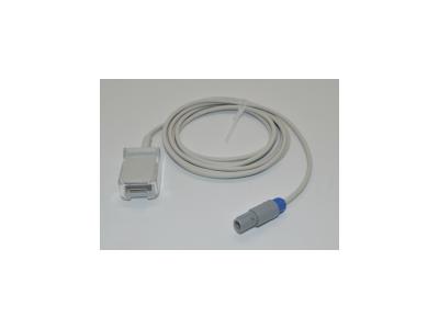 兼容监护仪PM7000/8000 T5/T6/T8 日本光电14针转DB9 玛斯莫20针血氧转接线