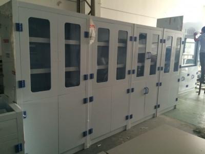 武汉1800*900*450耐酸碱PP试剂柜,武汉耐酸碱PP器皿柜,武汉瓷白色PP药品柜