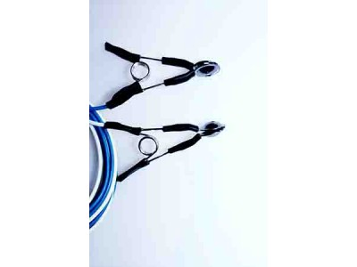 脑电(肌电)导联线  氯化银金盘耳夹
