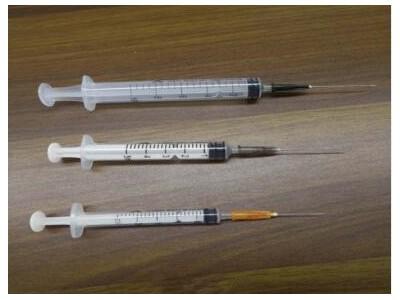 一次性无菌注射器带针