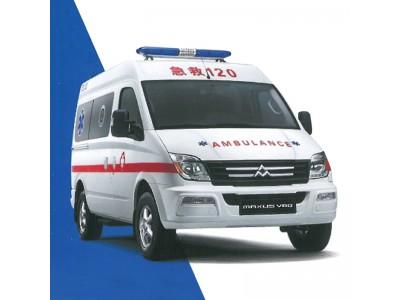 大通短轴救护车