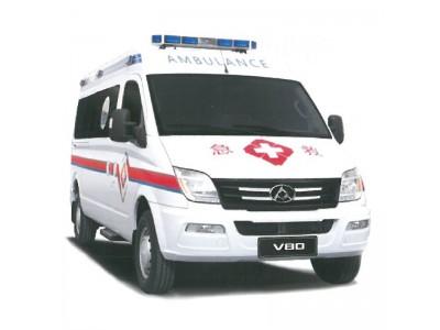 大通长轴救护车