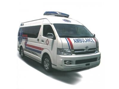 原装进口丰田海狮救护车