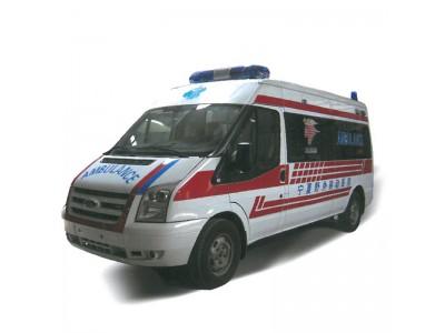 全顺福特V348长轴中顶救护车