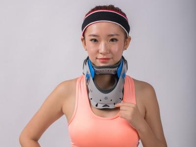 供应HKJD-A001颈托(可调节)颈椎牵引器 OEM代工
