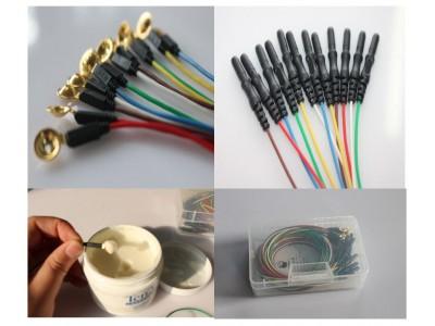 脑电肌电导联线|金盘盘状电极线
