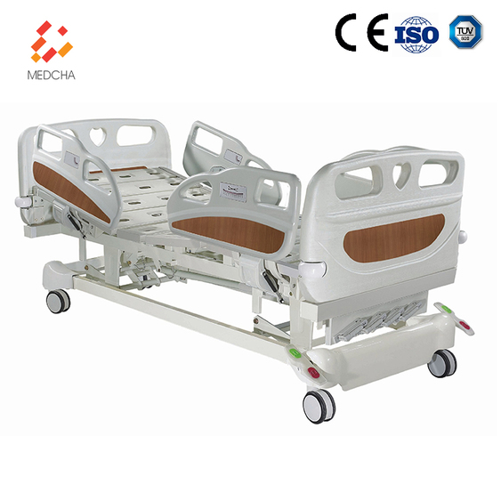 General hospital use 5 function bed cardiac