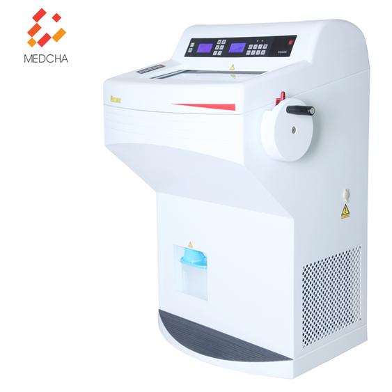 Semi-automatic pathology cryostat microtome