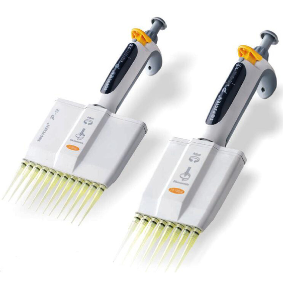 LAB P series mutichannel volume micropipettes
