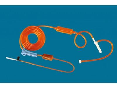 一次性使用避光输液器  带针