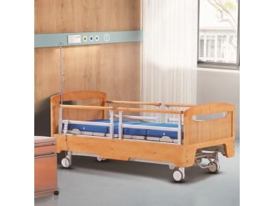 广东睿动直销 养老院护理床 实木床屏三功能电动病床 疗养院护理床 老人院护理床