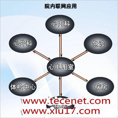 远程24小时动态心电监测系统(院内联网应用)
