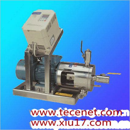 实验室管线式高剪切分散乳化机
