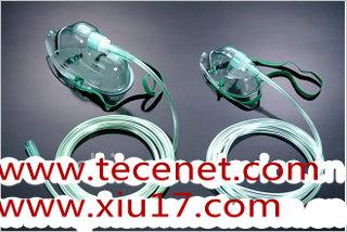 氧气面罩附氧气管