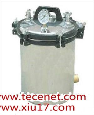 煤电两用手提式压力蒸汽消毒器