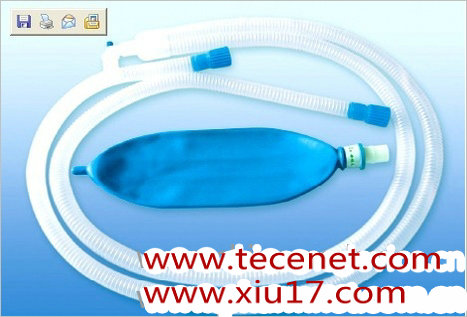 一次性使用麻醉呼吸机回路管