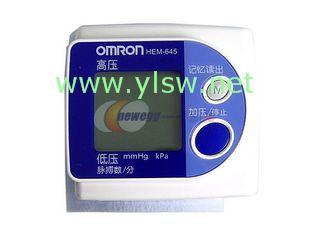 供应欧姆龙电子血压计645