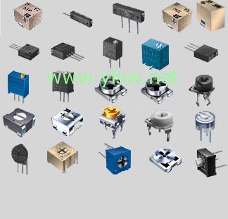 供应精密电位器、编码器、自恢复保险丝等