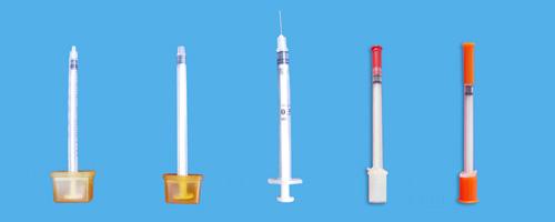 供应胰岛素注射器