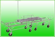 供应B1全不锈钢手术室对接车