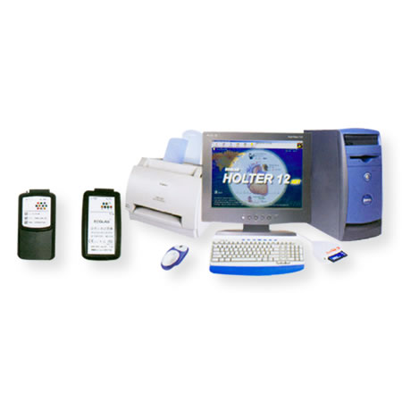 供应HOLTER 12 24小时动态心电分析系统