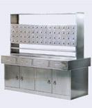 供应不锈钢双面西药柜