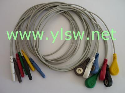 供应血氧探头心电导联线血压袖带监护仪配件