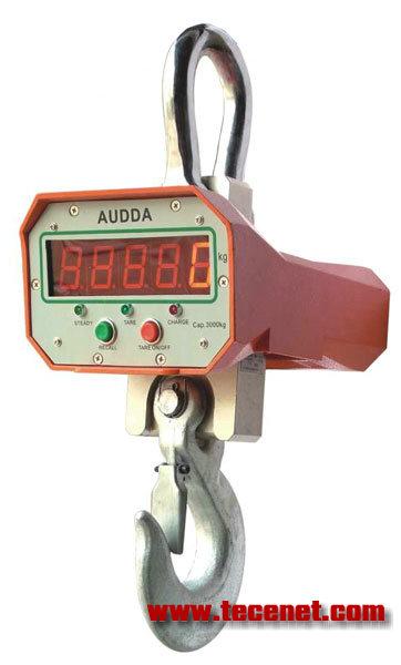 普通直视电子吊秤 产品型号:OCS-B2 量程范围:1-10(t) 详细信息:   系统特点:1.超低能耗设计,电路板耗电更小。2.大容量电池配置,续航时间更长。3.独特的智能充电保护功能,全面防止过