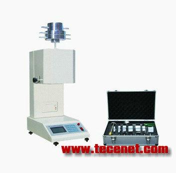 熔体流动速率测定仪-微机 二 产品型号:RTSL-400A制造标准: GB/T3682 《热塑性塑料熔体质量流动速率和熔体体积流动速率的测定》  ISO1133 塑料 熔体质量流动速率(MFR)和熔体