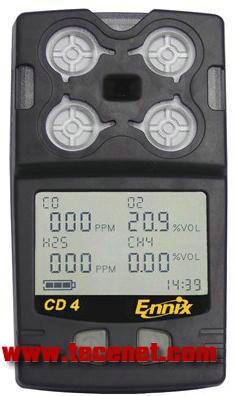 总代理恩尼克斯CD4矿用复合气体检测仪
