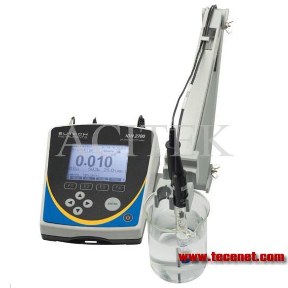 豪华型pH/ORP/离子测量台式仪器