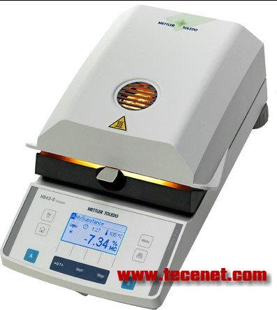 梅特勒HB43-S紧凑型卤素水分测定仪