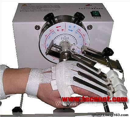 手关节连续被动运动康复训练机