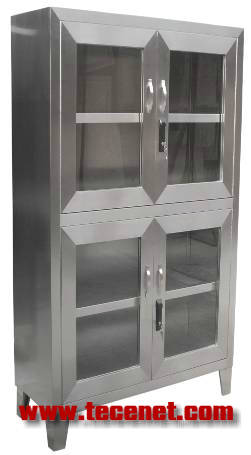 医用不锈钢器械敷料柜