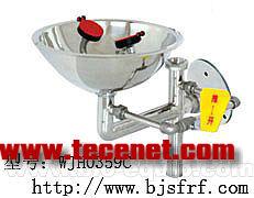 接墙式不锈钢洗眼器(WJH0359C)