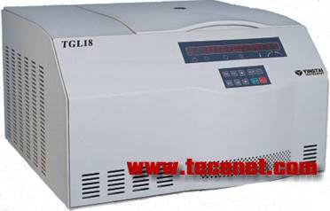 TGL18台式高速冷冻离心机