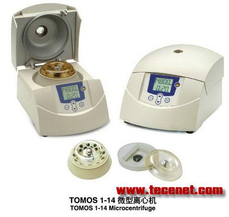 TOMOS 1-14微型离心机