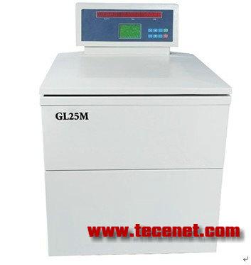 离心机的转速 GL25M立式高速冷冻离心机