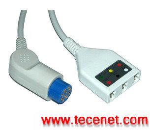 Datex德恩/ECG电缆线/ecg cable