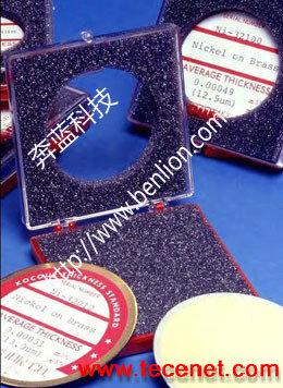 美国Kocour电解式库仑测厚仪镀层标准片
